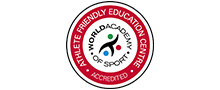 world academy of sport accreditation logo