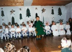 dated 1996 shows haut-lac primary students putting on a christmas play