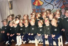 dated 1996 shows students putting on a christmas show