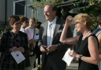 dated 2005 a photo from the inauguration of the roches grises campus